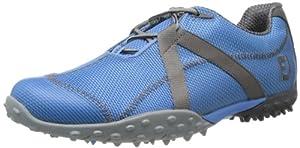 FootJoy 2013 M Project Mesh Spikeless Golf Shoess: Blue-Grey Wide 9.5