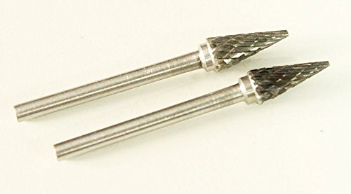 Best-Choose-New-2-Pcs-Tungsten-Carbide-Cutter-Rotary-Burr-Bit-Double-Cut-Shank-18-CONE-SHAPE