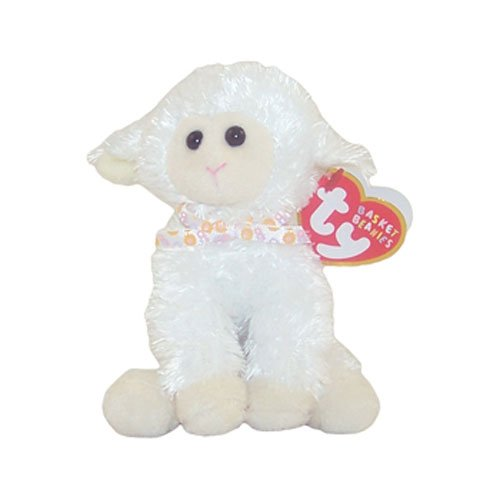 Ty Basket Beanies - Fleecia the Lamb