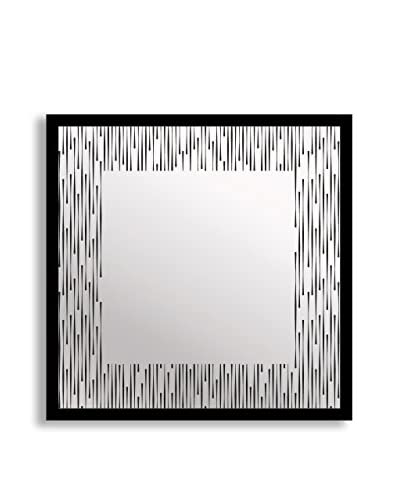 Gallery Direct Midcentury Chic Print on Mirror, Multi, 16 x 16
