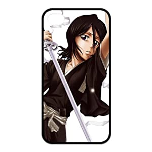 Popular Japanese Anime Bleach Rukia Kuchiki Especial Durable Hard Plastic Case Cover Fits Apple Iphone 4/4s Design Yedda DIY