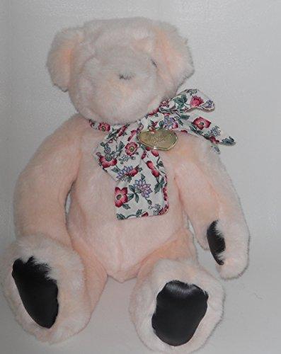 """1992 Victoria's Secret Plush Pink 14"""" Teddy Bear by Gund - 1"""