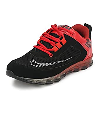 Afrojack Air+ Men's Red Sports Shoes - 9