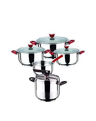 Bergner Batería de cocina 8 Piezas PK371 Bicolor