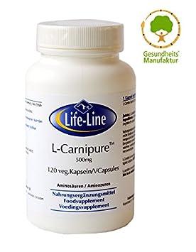 L-Carnitin 500 mg 60 Kapseln AX