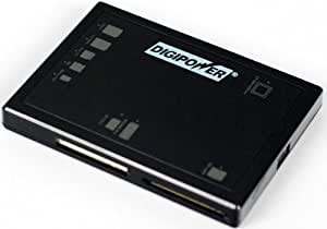 Digipower DP-FCR41 66 in-1-Card Reader/Writer for CF, MS, SD, Micro SD and XD (5 Slot)