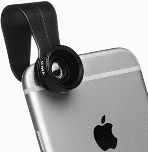 LOHA Premium Camera Lens for iPhone and Android - Take Beautiful Photos with Wide Angle 0.67x and Macro 10x Kit - FREE Photography Guide