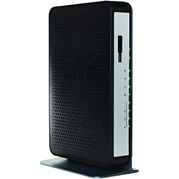 Netgear N450-100NAS WiFi DOCSIS 3.0 Cable Modem Router