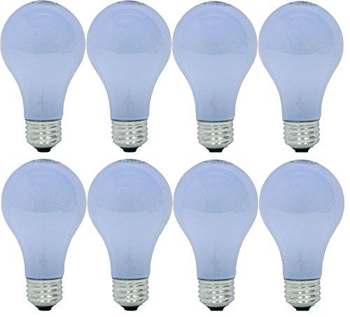 ge lighting 48688 60 watt a19 reveal bulbs 8 pack. Black Bedroom Furniture Sets. Home Design Ideas