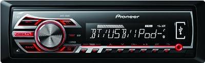 Pioneer MVH-350BT Digital-Receiver (Bluetooth, Front AUX-IN, Vorverstärkerausgang, iPod/iPhone Steuerung, Front-USB-Anschluss) von Pioneer Electronics Deutschland Gmbh - Reifen Onlineshop
