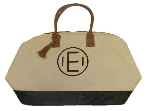 Mud Pie Chelsea Weekender Bag, E (Mud Pie Weekender Bag compare prices)