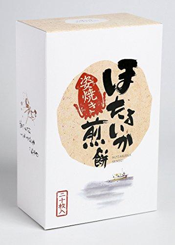 (株)トラスト 姿焼き ほたるいか煎餅(20枚入り)1箱