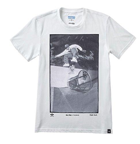 (アディダス) ADIDAS SKATEBOARDING Ryr Kareen Tee A99349 アディダス Tシャツ 半袖 カリーム・キャンベル ホワイト Lサイズ [並行輸入品]