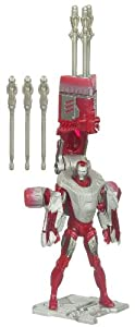 "Iron Man 3.75"" Figure Armor Tech 2.0 - Juggernaut Mission"
