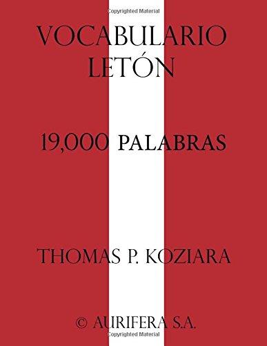 Vocabulario Leton
