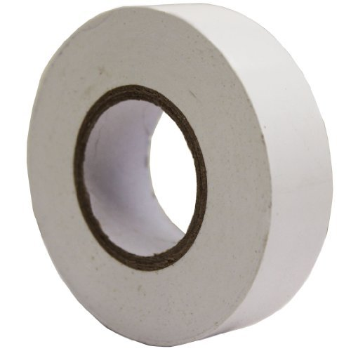 All Trade Direct 5X White Electrical Pvc Insulation Tape 19Mm X 20M Professional British Standard