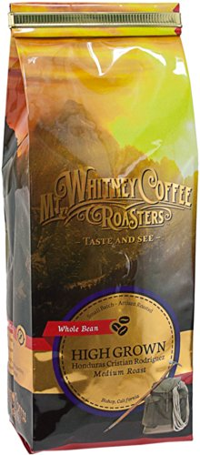 Mt. Whitney Coffee Roasters: 12 Oz, High Grown Cristian Rodriguez, Single Origin, Medium Roast, Ground Coffee