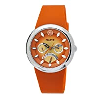 Philip Stein Women's F43S-TS-O Quartz Stainless Steel Orange Dial Watch from Philip Stein