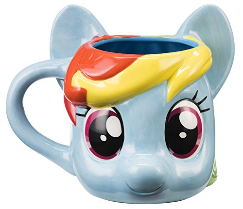 My Little Pony Rainbow Dash Sculpted Ceramic Mug (My Little Pony Coffee Cup compare prices)