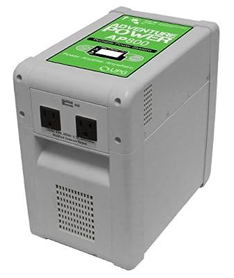 UPGI 87574 800W 120V AC Portable Power Inverter, Gray