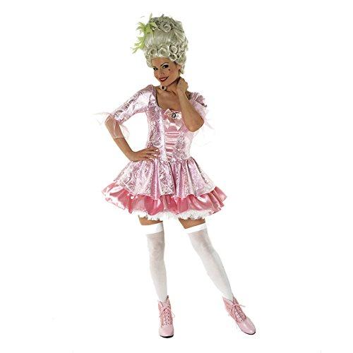 Sofias Closet da donna, Sexy Mary Antoinette Fancy Dress-Costume da bourlesque, colore rosa, taglie: Let them Eat cake regina Versailles, motivo: Mascherata