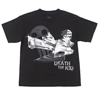 Soul Eater Death The Kid T-Shirt Size : X-Small