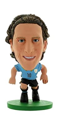 SoccerStarz Uruguay International Figurine Featuring Diego Forlan in Uruguay's Home Kit - Blister Pack (Releasing 16th April 2014)