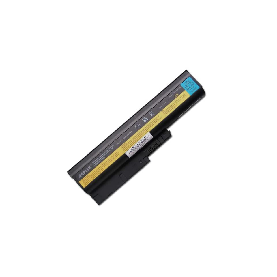 Battery for Lenovo IBM ThinkPad R60 R60e T60 T60p Z61e Z61m Z61p Series (for 14.1 & 15.0 standard screens and 15.4 widescreen ONLY)