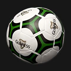 Guinness Green White Soft Soccer Ball