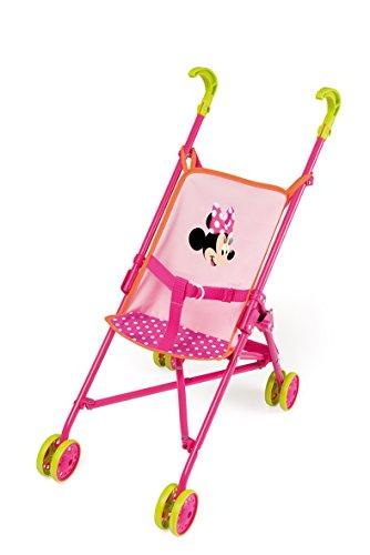 Smoby 24263 - Passeggino per bambole di Minnie, richiudibile