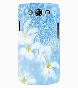 ColourCraft Lovely Flowers Design Back Case Cover for SAMSUNG GALAXY S3 I9300