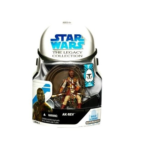 Star Wars: Legacy Collection Wave 1 Ak-Rev (First Day Of Issue) Action Figure