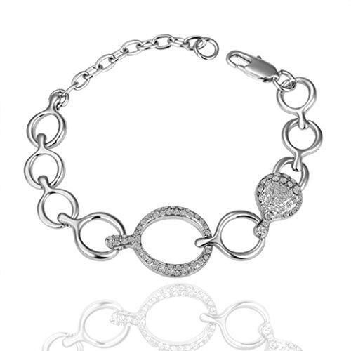 18k-plaque-or-femme-bracelets-a-breloques-rond-forme-longueur-8inches-adisaer-bijoux