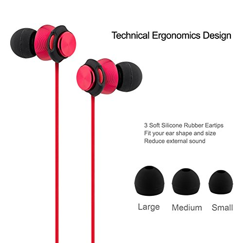 Earbuds with microphone bass - double driver earbuds with microphone