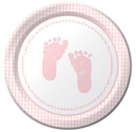 Baby Girl Shower Plate - 1