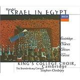 Handel - Israel in Egypt / Bostridge, Chance, Gritton, Varcoe, King's College Choir, The Brandenburg Consort, Cleobury