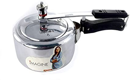 Imagine Aluminium 2 L Pressure Cooker (Induction Bottom,Inner Lid)