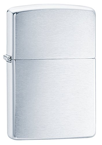 zippo-briquet-basique-brush-chrome