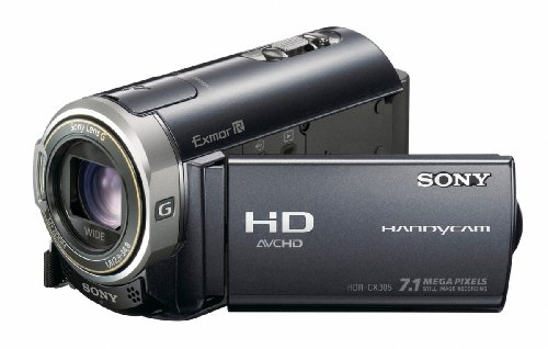 Sony HDRCX305EB High Definition Handycam Camcorder - Black