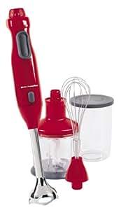 KitchenAid KHB300ER Hand Blender, Empire Red