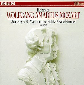 Best of W.A. Mozart by Wolfgang Amadeus Mozart, Neville Marriner, Colin Davis, Edo de Waart and Academy of St. Martin-in-the-Fields