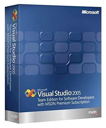 Microsoft Visual Studio Team Edition for Software Developers 2005  w/MSDN Premium Renewal [Old Version]
