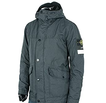 stone island david tc hooded grey jacket x large amazon. Black Bedroom Furniture Sets. Home Design Ideas