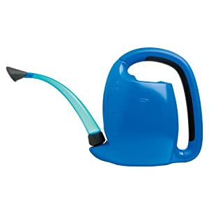 OXO 1069727 Good Grips Indoor Pour & Store 3.17-Quart Watering Can, Blue