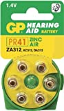 Ukdapper - 1 box 10 cards GP Batteries Zinc Air Hearing Aid Batteries GPZA312-D6 Bulk