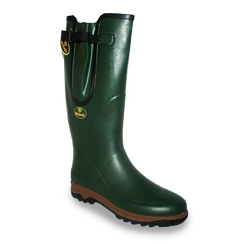 New Mens Wetlands Green Waterproof Riding Wellington Boots Size UK 5-12