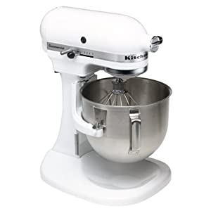 KitchenAid K5SSWH Commercial 5-Quart Mixer