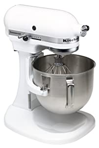 Amazon Com Kitchenaid K5sswh Commercial 5 Quart Mixer