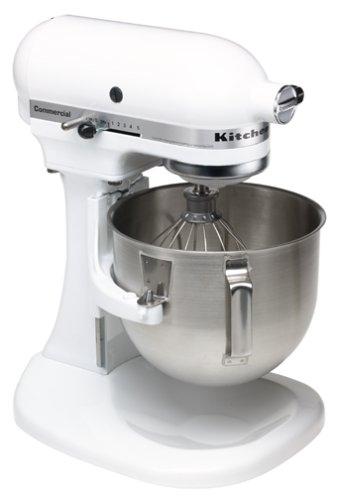 Kitchenaid K5sswh Commercial 5 Quart Mixer White Stand