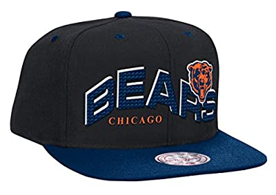 Chicago Bears The Wave Retro Snapback Hat